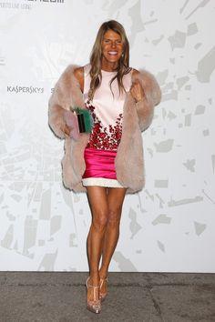 Anna dello Russo - Arrivals at the Vogue Talents Corner