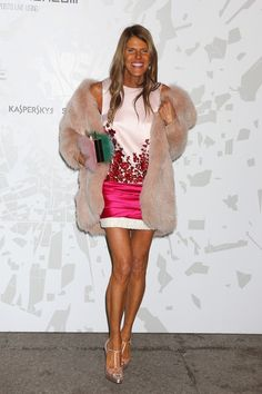 Anna dello Russo - Arrivals at the Vogue Talents Corner