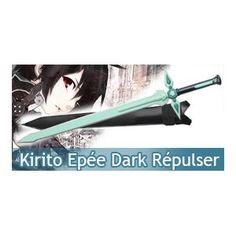 Sword Art Online Epée Kirito Dark Repulser V1