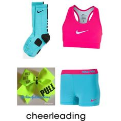 Cheer practice outfit I love