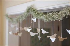 Bird Paper DIY Wedding Decorations