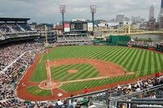 PNC Park; Pittsburgh, Pennsylvania;  This is the home of the Pittsburgh Pirates;  I've been to 83 stadiums to see professional baseball.  This is the nicest of all the stadiums that I've visited.
