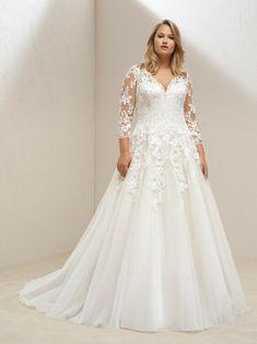 46 robes de mariée pour femmes rondes : mettez en valeur vos courbes avec style