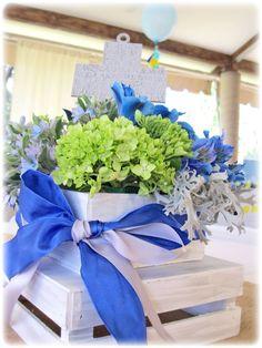 Centros de mesas para Primeras Comuniones! www.facebook.com/pmasideco
