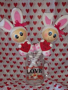 San Valentín San Valentin Ideas, Holiday Crafts, Holiday Decor, Pencil Toppers, Lalaloopsy, Rose Art, Clay Art, Gifts For Kids, Valentines Day