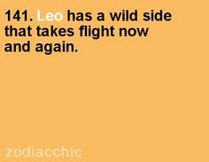 sometimes wild Leo