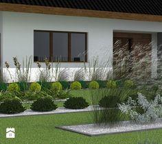 Ogród styl Nowoczesny - zdjęcie od ap. studio architektoniczne Aurelia Palczewska-Dreszler Studio, Outdoor Decor, Plants, Gardening, Fotografia, Garden, Studios, Lawn And Garden, Planters