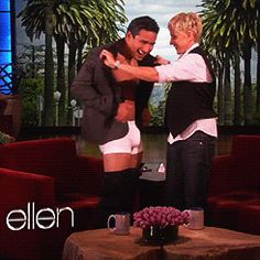 """Best of all, she'll (hopefully) enhance all of the goodie bags by giving everyone """"Ellen"""" underwear. 