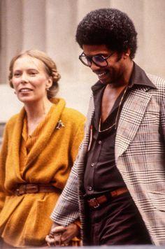 Herbie Hancock and Joni Mitchell, Berkeley, 1978. by Ed Perlstein