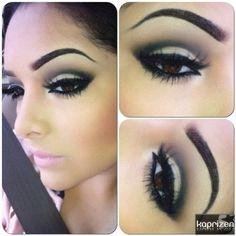 brown eyes makeup 121