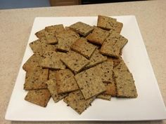 Almond Flax Crackers