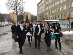 Iltapäivä-ryhmä retki alkamassa