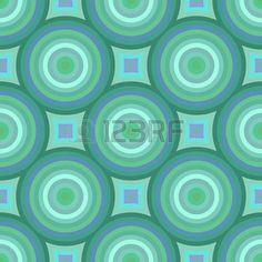 Colorful retro patterns geometric design vintage wallpaper seamless..