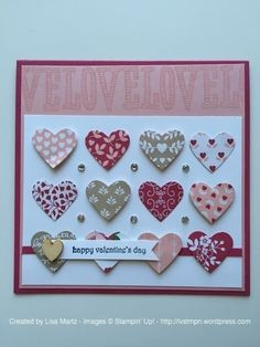 CCMC393 Happy Valentine's Day by Lisa Martz - Cards and Paper Crafts at Splitcoaststampers