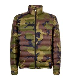 Polo Ralph Lauren Camouflage Quilted Jacket available to buy at Harrods.Shop  clothing online and c942b71b097
