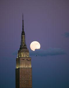 Full moon ... Empire Moon Rising.