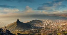 Cape Town by amhill cable car cape town city view signal hill south africa sunset table mountain lions head mountain amh Safari, Signal Hill, Table Mountain, Mountain Lion, Cape Town, Monument Valley, South Africa, Beautiful Places, Mountains