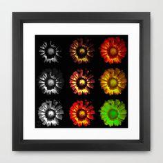 9 suns Framed Art Print by Ajinkya Pawar - $35.00