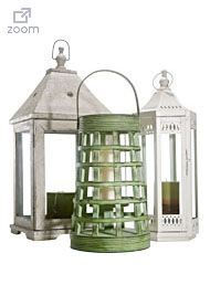Marshalls - No need to spend a lot on out door accessories...great laterns at Marshalls and other home acessory stores.