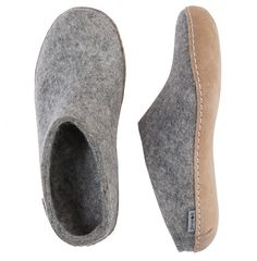 Glerups has kicked bedroom slippers out of the bedroom and into, well, everywhere. Get more warmth and the comfort from pure wool, with the unisex slipper from Glerups. Grey Slippers, Bedroom Slippers, Felted Wool Slippers, Crochet Slippers, Slip On Boots, Outdoor Wear, Models, Womens Slippers, Wool Felt