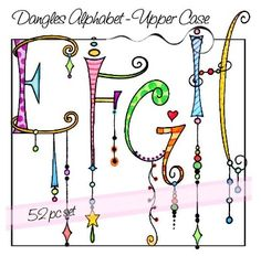 Dangles Alphabet