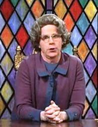 Dana Carvey as the Church Lady - SNL