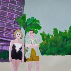 Florida. Limited edition print by Vivienne Strauss.