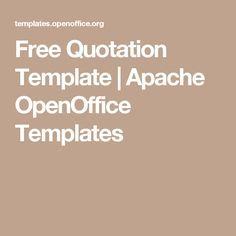 35 Best Quotation Templates - Dotxes images   Manager ...