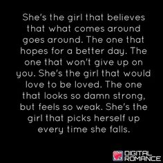 I'm so that girl