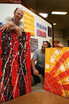 Bli Bli man with brain damage shows emotions through art