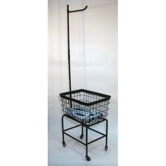 Found it at Wayfair - Rolling Laundry Cart