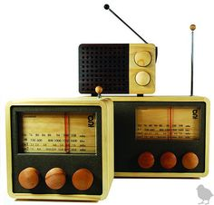 Listened to radios until I was 7...when we got our first TV. Had 3 channels!