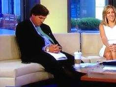 VIDEO: FOX News Anchor Tucker Carlson Falls Asleep On-Air... Fox News Anchors, Tucker Carlson, How To Fall Asleep, Humor, Fun, Humour, Funny Photos, Funny Humor, Comedy