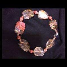 Large Stone Necklace