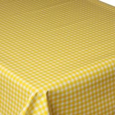 Incroyable Gingham Yellow 130 X 230 Oblong