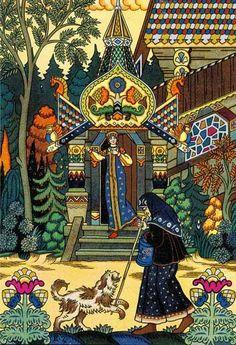 "Boris Zworykin, ""The Tale of the Dead Princess"" by Pushkin"
