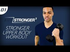 45 Min. STRONGER: Upper Body Build Workout | HIIT/STRONGER 03: Day 01 - YouTube