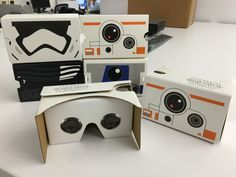Verizon's Star Wars-themed Google Cardboard viewers launch alongside a new mobile Star Wars VR experience. We took a look at all of them.