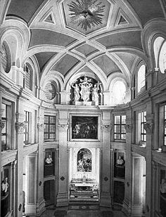 Borromini. Colegio di Propaganda Fide, Roma. Interior (capilla de los Reyes Magos).