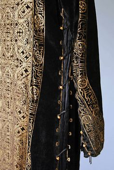 Evening dress (image 5 - detail) | Mariano Fortuny | Italian | early 20th century | silk, glass | Metropolitan Museum of Art | Accession Number: 1977.304.3