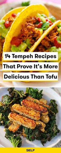 These tempeh recipes will make you totally forget tofu. If you're looking to experiment with vegetarian meals, or you're a full-blown vegan, these healthy tempeh recipes are easy to make! Try it stir-fry style, or in a veggie burger. You'll never run out of meatless options!