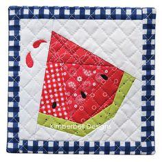 2011 Watermelon quilt | Log cabins, Log cabin quilts and Logs : watermelon quilt pattern - Adamdwight.com