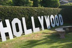 "Hollywood theme party.  Wondering if ""KELLYWOOD"" would be a cute idea."