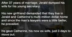 He Dumps His Wife For A Secretary And Keeps The House. How The Wife Gets Revenge? Pure Gold. - Newz Magazine