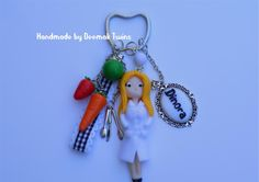 Nutritionist Keychain Porta-chaves Nutricionista
