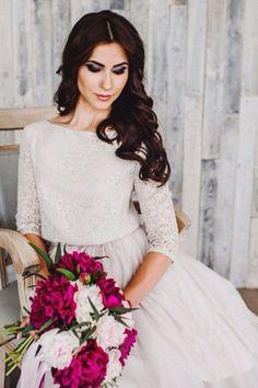 Hochzeit Kleid Chloe einzigartige Hochzeitskleid von APrioriBrand