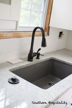 Awesome Blanco Silgranit Sink In Metallic Gray, Love This Thing!