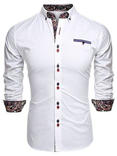 Coofandy Mens Fashion Slim Fit Dress Shirt Casual Exotic ... http://www.amazon.com/dp/B0188GTXLO/ref=cm_sw_r_pi_dp_R8gixb16HCVQS