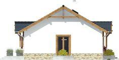 DOM.PL™ - Projekt domu ARC Ares bez garażu CE - DOM AR8-76 - gotowy koszt budowy Cabana, Design Case, Home Fashion, Modern House Design, Gazebo, Outdoor Structures, Architecture, House Styles, House Ideas