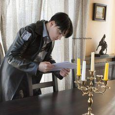 Russian cosplayer Alexander Nabeshin #Levi #Ackerman #SNK #cosplay